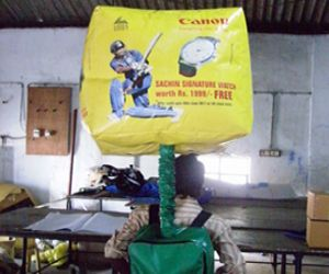 Backpack Balloon with Air Blower